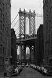 Manhattan-Brücke Lizenzfreies Stockbild