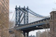 Manhattan-Brücke New York Stockbild