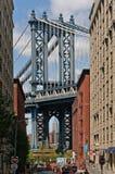 Manhattan-Brücke in New York City Stockbilder
