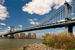 Manhattan-Brücke in New York City Lizenzfreies Stockfoto