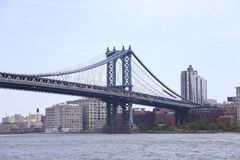 Manhattan-Brücke in New York City Stockfotos