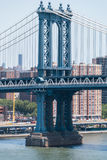 Manhattan-Brücke, NYC stockbilder