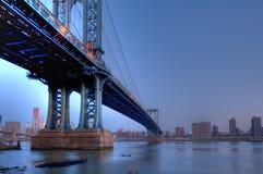 Manhattan bridge Stock Photos