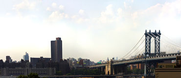Manhattan Bridge Royalty Free Stock Photography