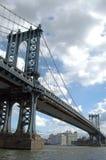 Manhattan bridge. In new york city Stock Image
