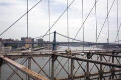 The Manhattan Bridge Royalty Free Stock Photo