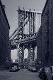 Manhattan Bridge. Stock Photo