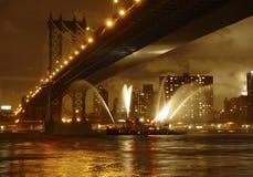Free Manhattan Bridge Royalty Free Stock Image - 3262186