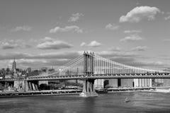 Manhattan bridge stock photo