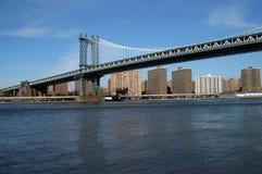 Manhattan bridge. In new york Stock Photos