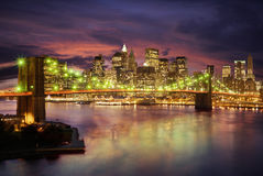 Manhattan Bridge Stock Photography