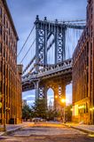 Manhattan Bridge Royalty Free Stock Photos
