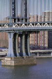 Manhattan Bridge Detail, New York USA Royalty Free Stock Photography