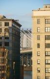 Manhattan Bridge Dumbo NY Royalty Free Stock Photography
