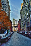 Manhattan Bridge. Royalty Free Stock Photos