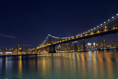 Manhattan Bridge Royalty Free Stock Photography