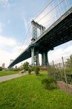 Manhattan Bridge in New York Royalty Free Stock Image