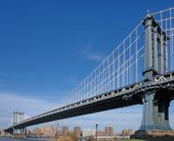 Manhattan Bridge in New York Royalty Free Stock Photos
