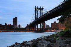 Manhattan Bridge, New York City Royalty Free Stock Images
