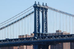 Manhattan Bridge, New York City Stock Image