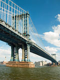 Manhattan bridge in New York City Royalty Free Stock Images