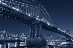 Manhattan Bridge, New York City. Stock Photography