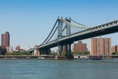 Manhattan bridge in New York City royalty free stock photos