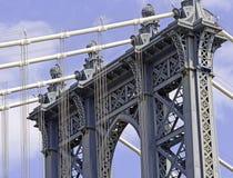Manhattan Bridge, New York City Stock Photo