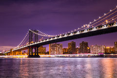 Manhattan Bridge New York City Stock Image