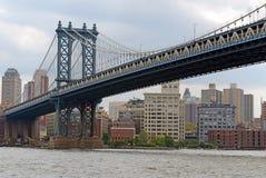 Manhattan Bridge, New York City Stock Photos
