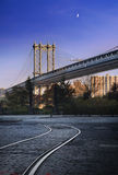Manhattan Bridge New York City stock photos