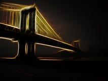 Manhattan Bridge. New York City Stock Photos