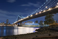 Manhattan Bridge New York City Royalty Free Stock Image