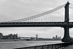 Manhattan Bridge in New York City Royalty Free Stock Photo