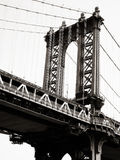Manhattan Bridge, New York City, USA Royalty Free Stock Photo