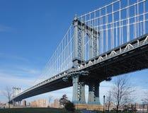 Manhattan Bridge in New York Royalty Free Stock Photo