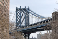 Manhattan Bridge New York Stock Image