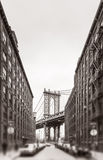 Manhattan Bridge, New York, USA Royalty Free Stock Photography
