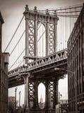 Manhattan Bridge, New York, USA Stock Photography