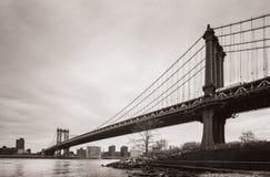 Manhattan Bridge, New York, USA Royalty Free Stock Image