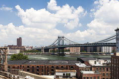 Manhattan Bridge, New York, USA Royalty Free Stock Images