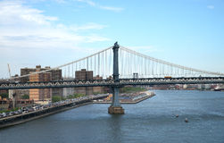 Manhattan Bridge, New York, USA Stock Photo