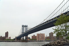Manhattan Bridge, New York, USA Royalty Free Stock Photography
