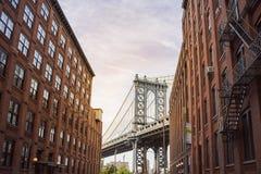 Free Manhattan Bridge NYC Royalty Free Stock Photography - 93215337