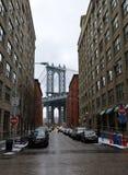Manhattan Bridge, NYC Stock Image