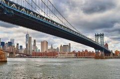 Manhattan Bridge, NYC. Stock Photography