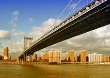 Manhattan Bridge. Stock Image
