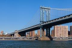 Manhattan Bridge Stock Image