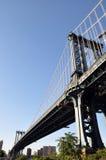 Manhattan bro Royaltyfri Foto