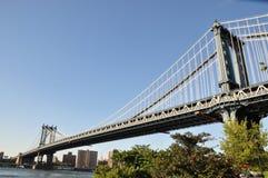 Manhattan bro Arkivbild